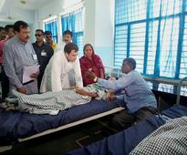 Dalit Victim Re-Admitted To Hospital Under Alleged Political Pressure Hours Before Rahul Gandhis Rajkot Visit