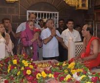 Gen V K Singh visits Shirdi, seeks blessings for Indians across the globe