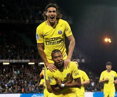 Football Briefs: Mbappe strikes as PSG beat 10-man Metz 5-1