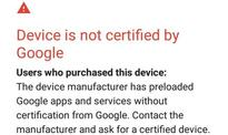 Google removes 100 device registration limit from uncertified device page