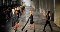 Yves Saint Laurent designer makes highly-anticipated debut