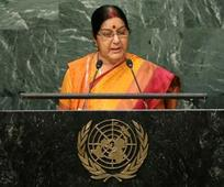 J&K is integral part of India, will always remain so: Swaraj at UNGA