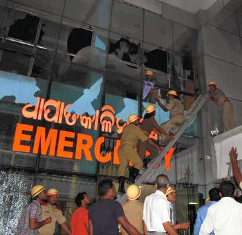 Blaze reported to us 45 minutes later: Odisha fire department head