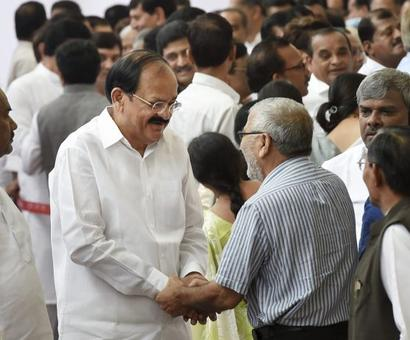 Vice President-elect Venkaiah Naidu's new definition for INDIA