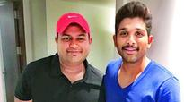 Allu Arjun turns singer