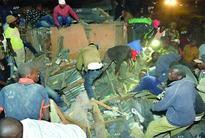 Six-storey building  collapses as floods hit Kenyan capital, 3 dead