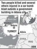 2 killed, 16 hurt in Turkey blast