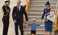 Kids In Tow, British Royals Prince William, Kate Begin Visit To Canada