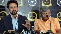 BCCI president Anurag Thakur, secretary Ajay Shirke to meet Lodha Panel