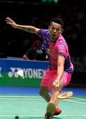 Lin Dan beats Sho Sasaki 2-1 at YONEX All England Open