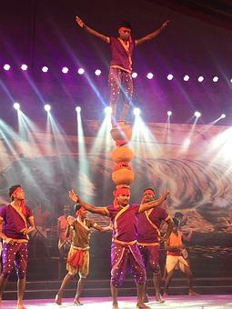 Dance event showcasing Indian history at Rajpath today