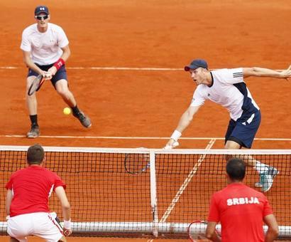 Davis Cup Roundup: Britain lead Serbia; Croatia still alive