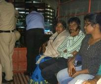 Kin of Rohith Vemula detained at University of Hyderabad