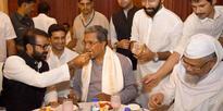 Karnatka CM Siddaramaiah during Iftar Party