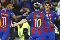 La Liga: Messi, Suarez Lead The Charge as Barca Rout Osasuna