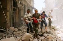 Strikes on rebel-held areas of Syria kill 15