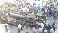 27 die as truck falls into water channel in Gujarat