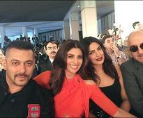 IIFA diaries Salman Khan bonds with pretty ladies Shilpa Shetty and Priyanka Chopra