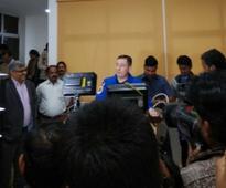 NASA astronaut Jack David Fischer visits Bhubaneswar, says space gives sense of humbleness
