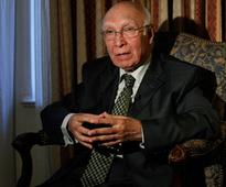 Resolution of Kashmir issue imperative to bring peace in region: Sartaj Aziz