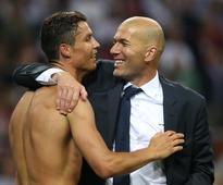 Zidane dismisses talk of rift with Ronaldo