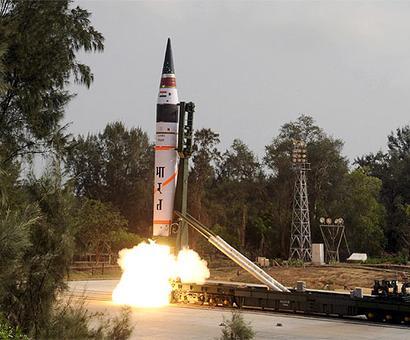 India successfully test-fires Agni-5 ballistic missile