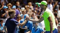 Goffin makes light work of Karlovic