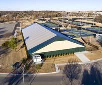 Fabric tennis building named USTA Outstanding Facility