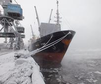 M/V Inzhener Trubin (Murmansk Shipping Company) to deliver reinforced concrete structures for Yamal LNG project (photo)