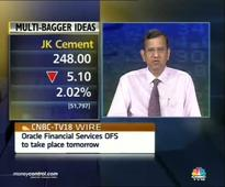 J. K. Cement can move to Rs 300: SP Tulsian