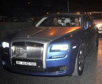 How much did Hrithik Roshan's new Rolls Royce cost?