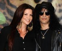 Guns N' Roses' Slash denies he was ever married to his wife