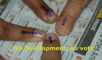 No development, no vote, says villagers boycotting Uttar Pradesh polls