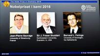 Trio Win Nobel Chemistry Prize For Tiny Molecular Machines