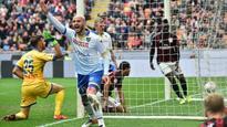 Carlos Bacca's winning goal gives AC Milan Europa League hope