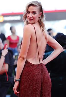 Is this the SEXIEST back at the Venice Film Festival?