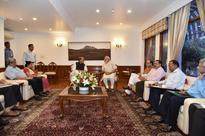 Modi Chairs Kashmir Meet, Omar Complains J&K Unrepresented