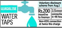 Discount to water users who fix meters