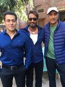 Check out: Salman Khan goes to meet Ajay Devgn on the sets of Baadshaho