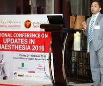 Ajman: GMU, Thumbay Hospital hold national conference for World Anaesthesia Day