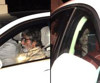 PIX: Bachchans, Hrithik,  Sridevi party with Steven Spielberg