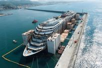 Costa Concordia Hulk Makes Final Voyage to Scrapyard