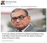 Leaders in Bihar Livid over Katju's So-called Joke; Demand his Arrest