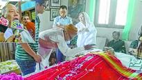 Demise of Rishang Keishing 3day State mourning begins, fitting respect paid