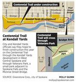Centennial Trail being expanded - Tue, 09 Apr 2013 PST