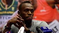 Sprint king Usain Bolt says he's serious about a soccer career