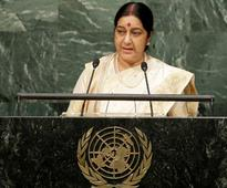 Pakistan brands Sushma Swaraj's speech as a 'litany of falsehoods'