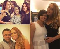 Iulia Vantur celebrates her birthday with Salman and family