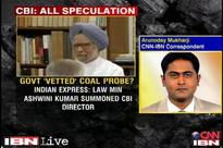 CBI coal scam report was vetted by Law Minister, PMO officials: report