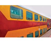 Railways to roll out long distance double decker train Uday Express in 2018